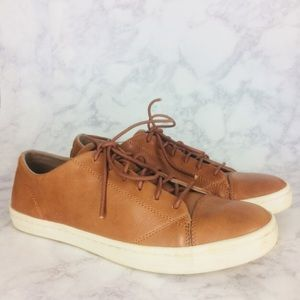 Cole Haan Trafton Luxe Leather Sneaker British Tan